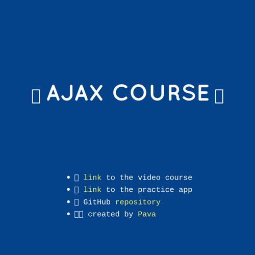 AJAX Fundamentals slides thumb