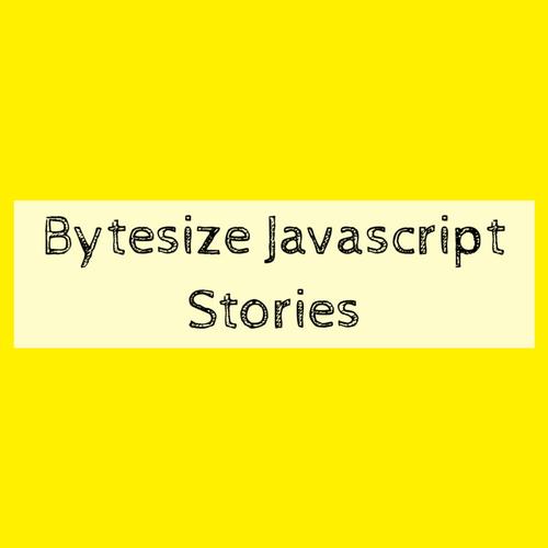 Bytesized Javascript Journeys slides thumb