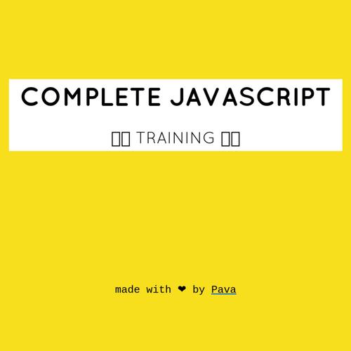 Complete JavaScript slides thumb