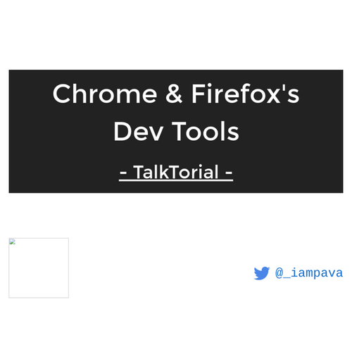 Deep dive into Chrome & Firefox's DevTools slides thumb