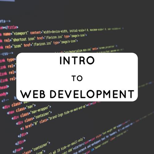 Intro to Web Development | Workshop Series slides thumb