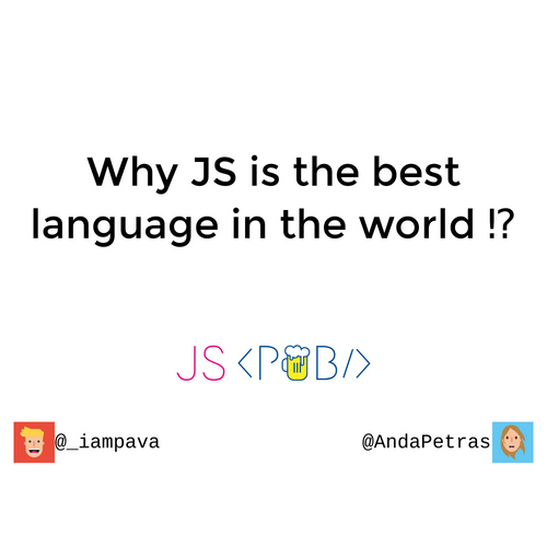 Why JS is the best language in the world 🔥 slides thumb