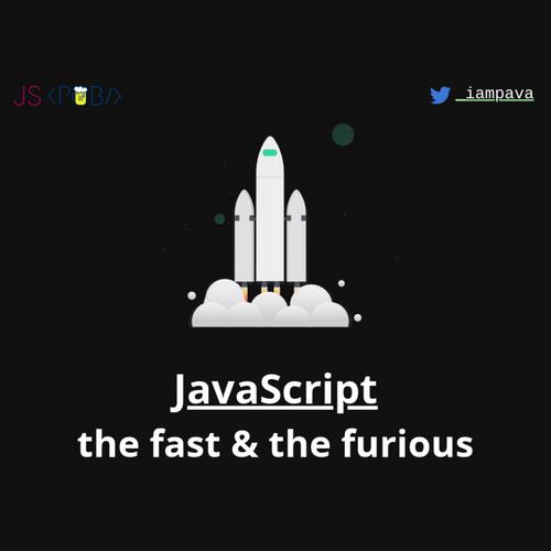 JavaScript: the fast & the furious slides thumb