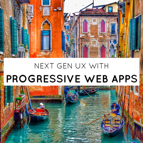 Next gen UX with Progressive Web Apps slides thumb
