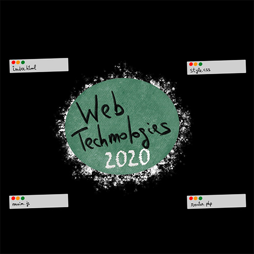 Web Technologies | 2020 slides thumb