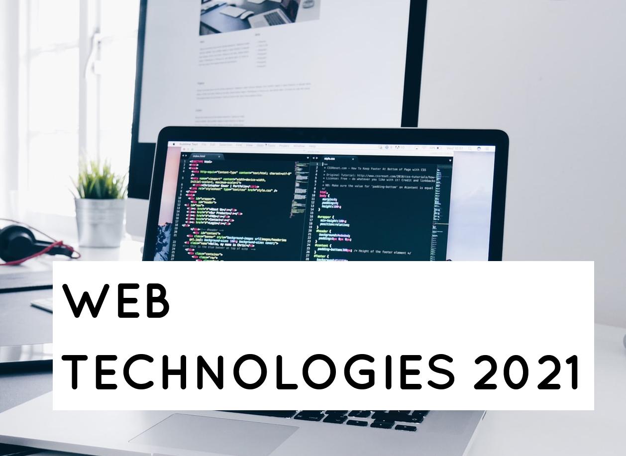Web Technologies | 2021 slides thumb